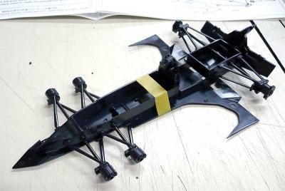 ガーランドSF-03/G アンリ・クレイトー サイバーフォーミュラ アオシマ