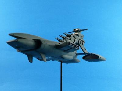 1/1200 ムサイ 機動戦士ガンダム ジオン公国軍巡洋艦 作例