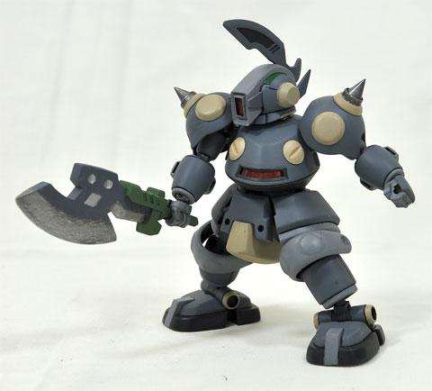 No.20 ファイヤーデクー  おとなLBX部門 第1回 ダンボール戦機 LBXプラモデルコンテスト