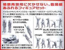 1/100 MSフィギュア 01 ビルダーズパーツHD プラモデル タギミ