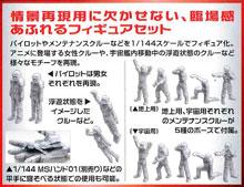 1/144 MSフィギュア01 ビルダーズパーツHD プラモデル タギミ