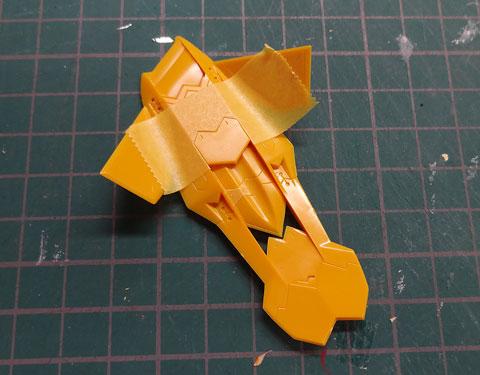 1/144 武御雷Type-00F 篁唯依機 プラモデル サンプル製作レビュー マブラヴ コトブキヤ