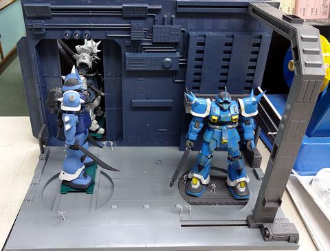 1/144 MSフィギュア01 ビルダーズパーツHD プラモデル サンプル製作レビュー バンダイ