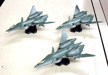 1/72 RVF-25 メサイアバルキリー ルカ機 with ゴースト