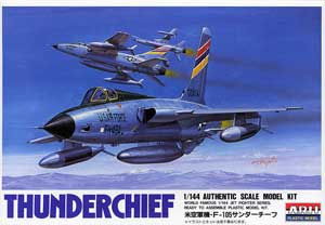 1/144 米空軍機 F-105 サンダーチーフ
