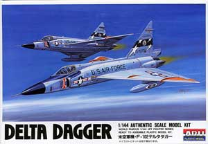 1/144 米空軍機 F-102 デルタダガー