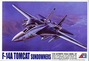 1/144 F-14A トムキャット サンダウナーズ ロービジ