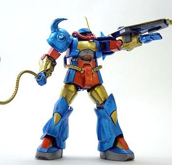シュウ専用グフ 第7回キャラクタープラモデルコンテスト