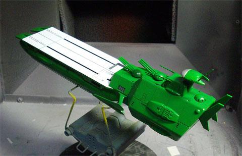 宇宙戦艦ヤマト ガルマン・ガミラス戦闘空母 バンダイ