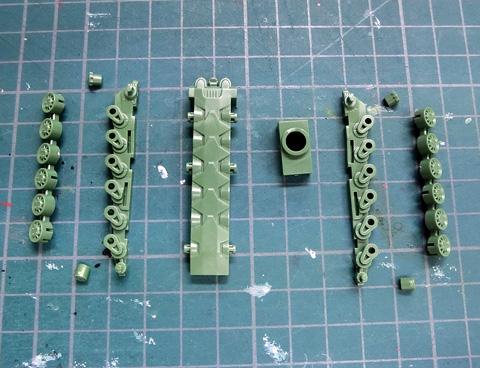 1/1000 ガミラス艦セット2 サンプル製作レビュー プラモデル 宇宙戦艦ヤマト2199 バンダイ タギミ