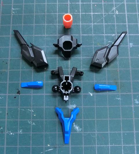 LBX ファントム プラモデル サンプル製作レビュー ダンボール戦機WARS タギミ