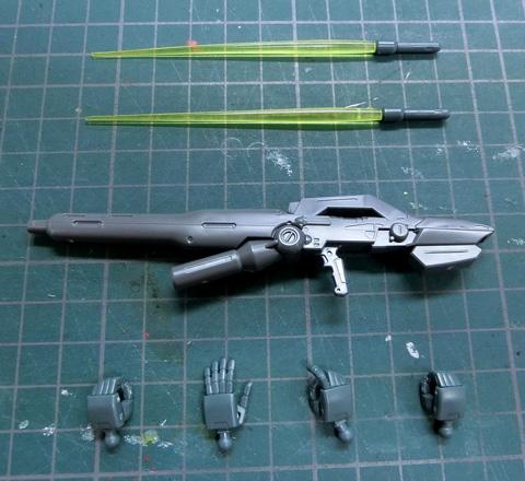 HGUC 1/144 ガーベラ・テトラ サンプル製作レビュー プラモデル タギミ