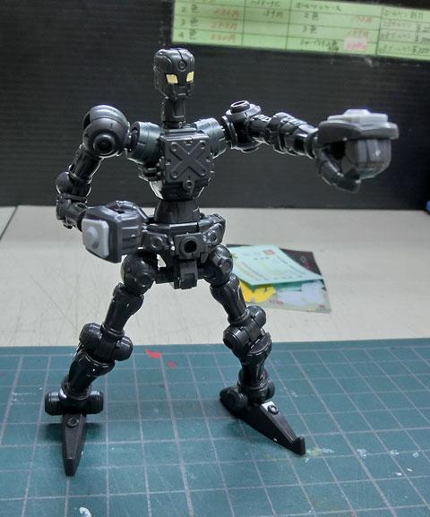 ハイパーファンクション LBX ルシファー プラモデル サンプル製作レビュー タギミ