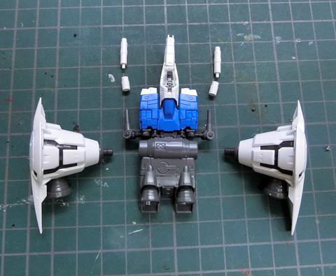 RG 1/144 RX-78GP01Fb ガンダム試作1号機フルバーニアン プラモデル サンプル製作レビュー タギミ