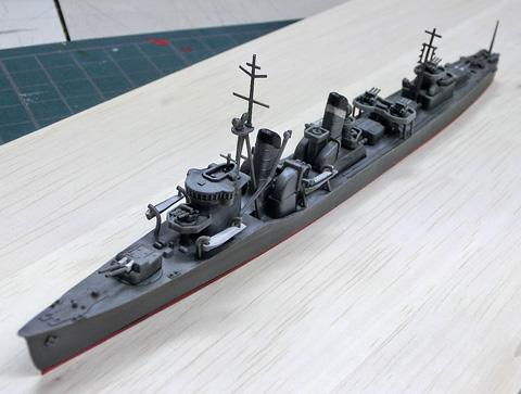 1/700 駆逐艦 初雪 プラモデル ウォーターライン タミヤ