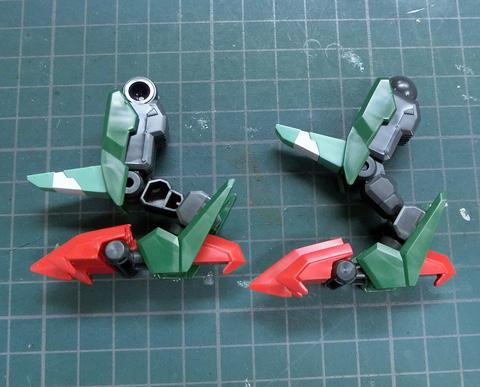 LBX トライヴァイン プラモデル サンプル製作レビュー ダンボール戦機WARS タギミ