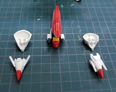 LBX ドットブラスライザー プラモデル サンプル製作レビュー ダンボール戦機WARS タギミ