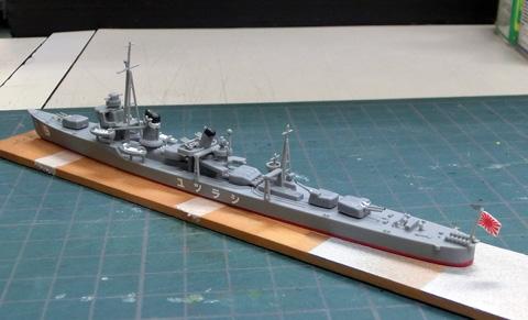 1/700 駆逐艦 白露 プラモデル ウォーターライン タミヤ