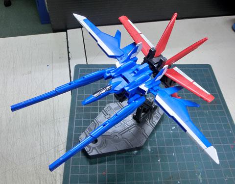 1/144 HGビルドカスタム ビルドブースター サンプル製作レビュー プラモデル タギミ