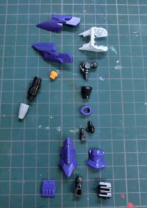 LBX マグナオルタス プラモデル サンプル製作レビュー タギミ