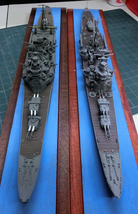 1/700 日本海軍 重巡洋艦 妙高 みょうこう プラモデル 製作レビュー タギミ