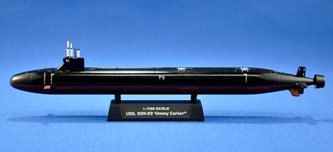 No.07 U.S.S SSN-23 ジミーカーター 第5回 艦船プラモデルコンテスト タギミ