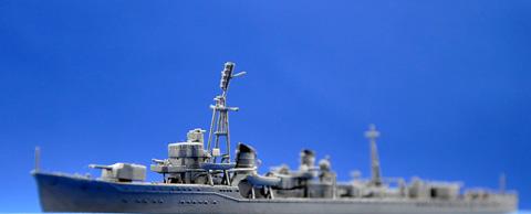 No.14 白露型駆逐艦二番艦 時雨単艦 遠征 タギミナウ 第5回 艦船プラモデルコンテスト タギミ