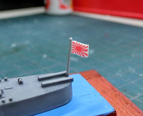 1/700WL 日本海軍 軽巡洋艦 夕張 ゆうばり プラモデル 製作レビュー タギミ