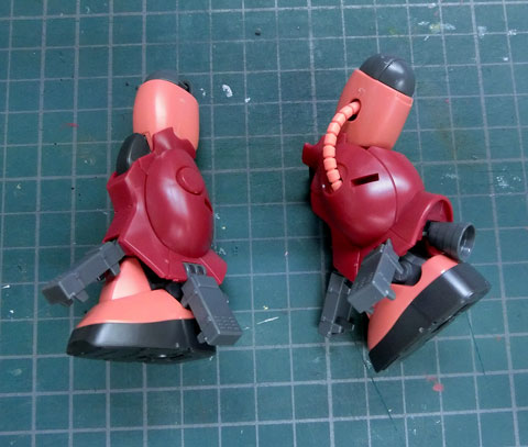 HG  1/144 ザクアメイジング サンプル製作レビュー プラモデル ガンダムビルドファイターズ バンダイ