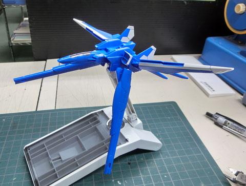 1/144 ビルドブースターMk-II HGビルドカスタム プラモデル サンプル製作レビュー タギミ