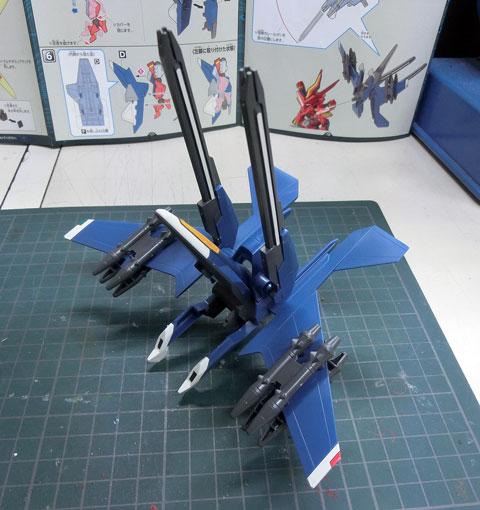 LBX ドットブラスライザー・ジーエクスト プラモデル ダンボール戦機WARS サンプル製作レビュー タギミ