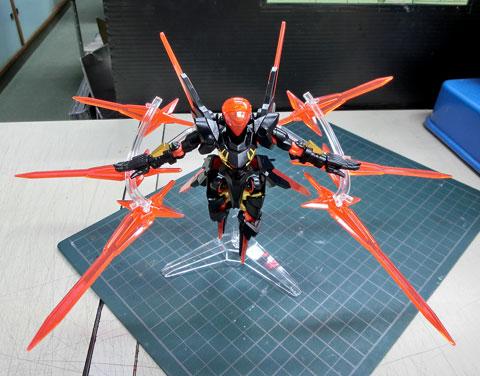 LBX ディ・エゼルディ プラモデル サンプル製作レビュー タギミ