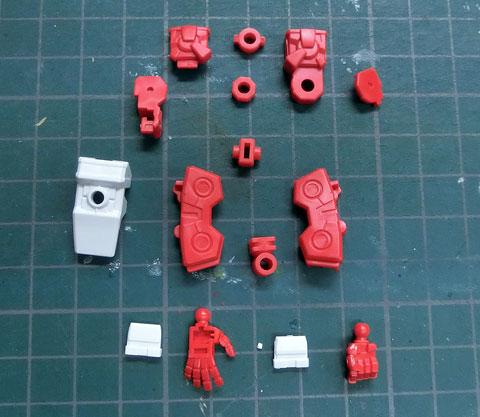 HG 1/144 戦国アストレイ頑駄無 プラモデル サンプル製作レビュー タギミ