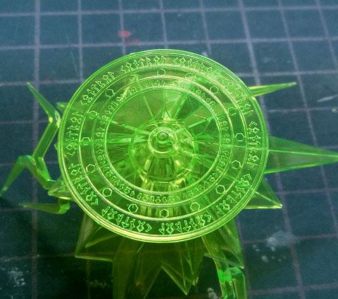 1/144 ヴァルヴレイヴ VI 火遊(ヒアソビ) プラモデル サンプル製作レビュー タギミ