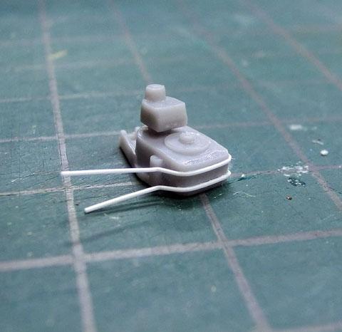 1/700 ウォーターライン 日本海軍 駆逐艦 夕雲 ゆうぐも 製作レビュー タギミ