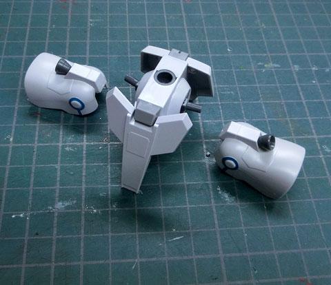 HGUC 1/144 シルヴァバレト プラモデル サンプル製作レビュー タギミ
