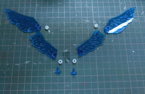 HG 1/144 スタービルドストライク プラフスキーウィング プラモデル サンプル製作レビュー タギミ