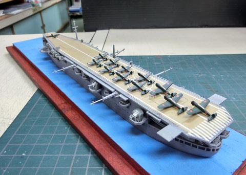 1/700WL 日本海軍 航空母艦 沖鷹 ちゅうよう プラモデル 製作レビュー タギミ
