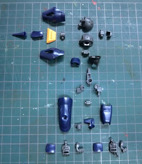 HG 1/144 ケンプファー アメイジング サンプル製作レビュー プラモデル タギミ