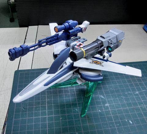 LBX オーディーンM(ミリタス)  プラモデル ダンボール戦機WARS サンプル製作レビュー タギミ