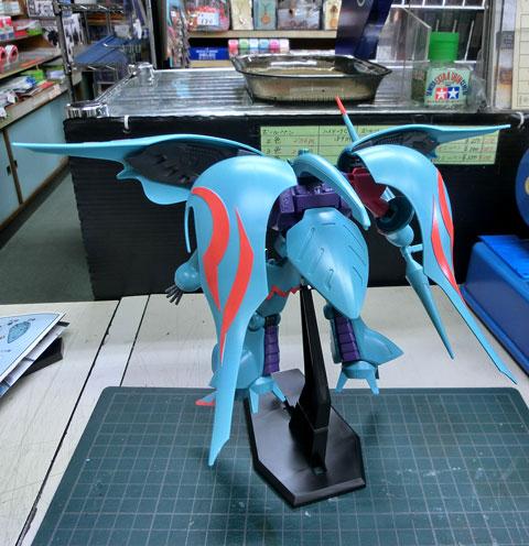 HG 1/144 キュベレイパピヨン プラモデル サンプル製作レビュー タギミ