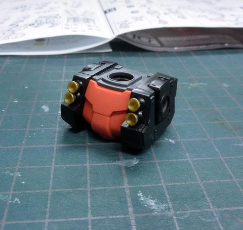 HG 1/144 高機動型ザク サイコザク サンダーボルト版 プラモデル サンプル製作レビュー タギミ