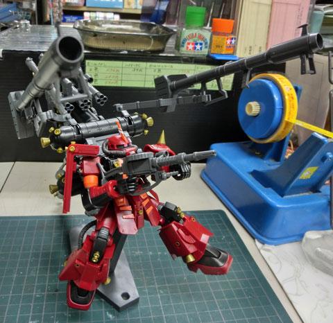 HG 1/144 高機動型ザク サイコザク サンダーボルト版 プラモデル サンプル製作レビュー