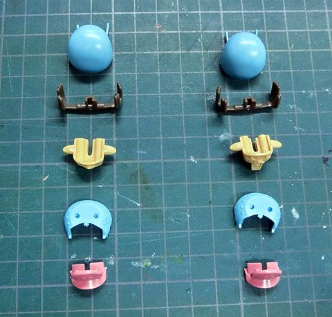 チョッパーロボ1号 チョッパータンク プラモデル サンプル製作レビュー タギミ