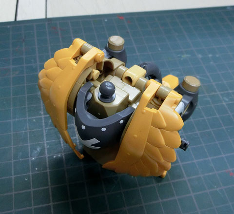 チョッパーロボ2号 チョッパーウイング プラモデル サンプル製作レビュー タギミ