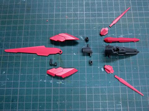 HGBC 1/144 ダークマターブースター サンプル製作レビュー プラモデル タギミ
