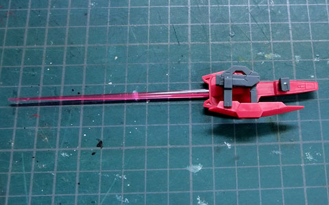 HG ガンダムエクシアダークマター プラモデル サンプル製作レビュー タギミ