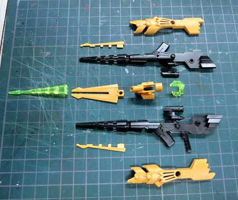 ハイパーファンクション LBX アキレス・ディード プラモデル サンプル製作レビュー タギミ