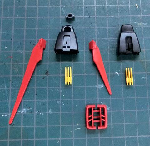 HGCE 1/144 エールストライクガンダム サンプル製作レビュー プラモデル タギミ