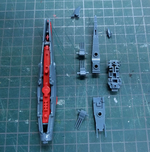 メカコレクション 宇宙戦艦ヤマト2199 プラモデル サンプル製作レビュー バンダイ